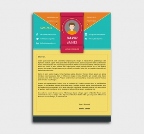 impress cv - template cover letter