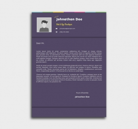 instant cv template - cover letter