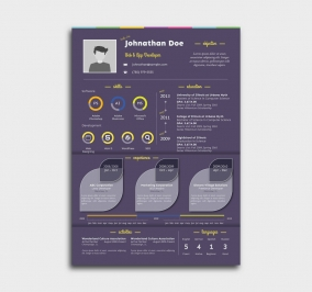 instant cv template - resume