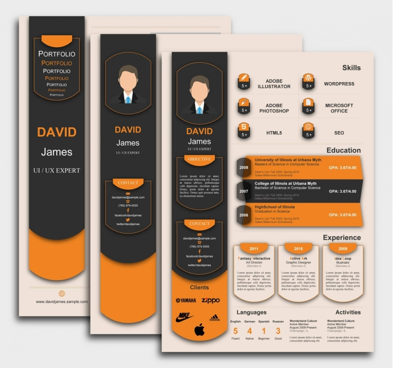 Exceptional CV Template
