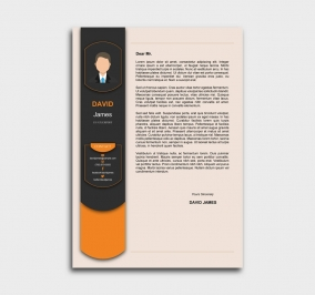 exceptional  cv template - cover letter