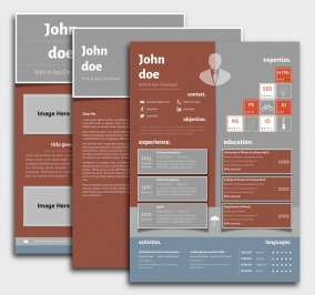 Superior CV Template - Resume + Cover Letter + Portfolio