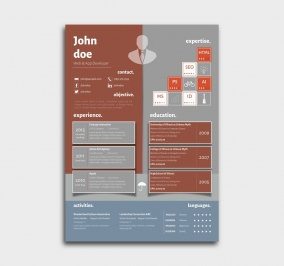 superior cv template - resume